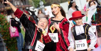 Festiwal Biegowy to wspaniali ludzie, świetna zabawa i... bezpieczeństwo