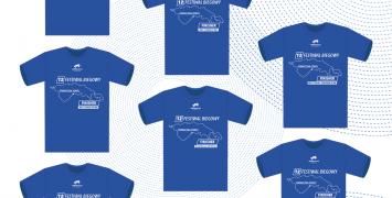 koszulki finiszera 12. Festiwalu Biegowego