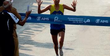 Lalita Babbar, Mumbai Marathon