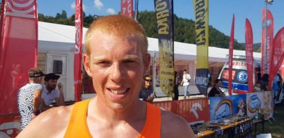 Piotr Jaśtal pierwszy na mecie Biegu Górskiego na 23 km