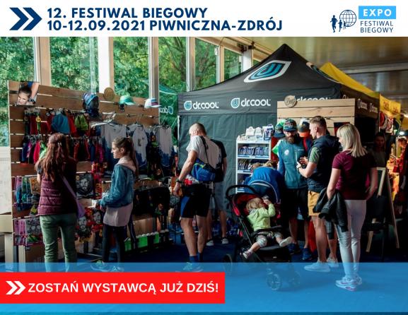 Weź udział w największych targach 12. edycji Festiwalu Biegowego!