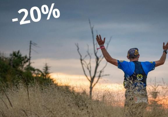 Jak dostać 20 procent zniżki? Upusty wciąż aktywne! Znajdź Ambasadora Festiwalu Biegowego