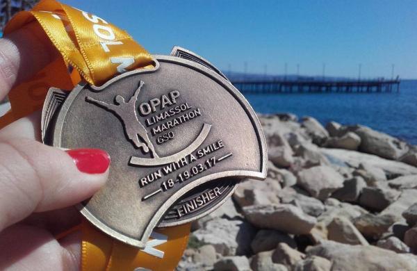 Limassol International Half Marathon, Cypr (19.3.2017)