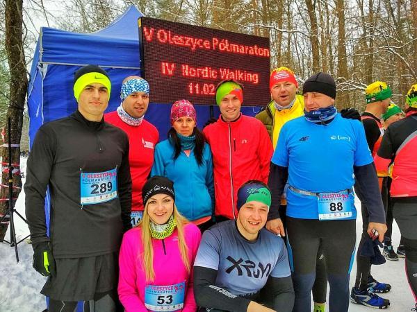 5. Półmaraton Oleszyce w Zabiale k.Oleszycy (11.2.2018)