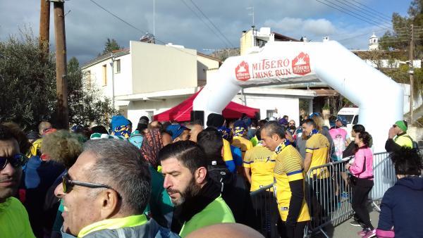Mitsero Mine Run na Cyprze (9.2.2020)