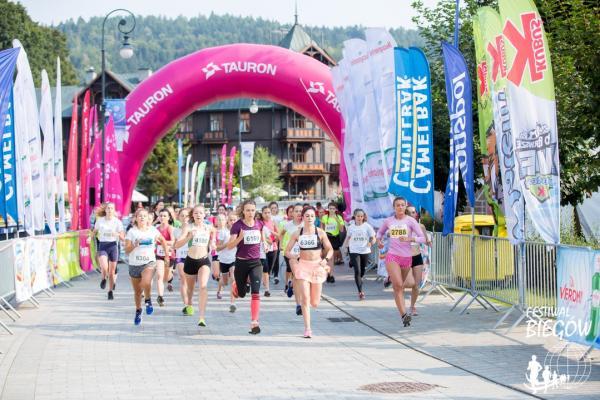 Bieg Kobiet w Krynicy-Zdroju (8.9.2018)