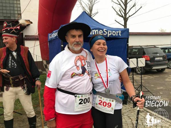Mistrzostwa Polski w Maratonie Nordic Walking w Radziechowach (3.11.2018)
