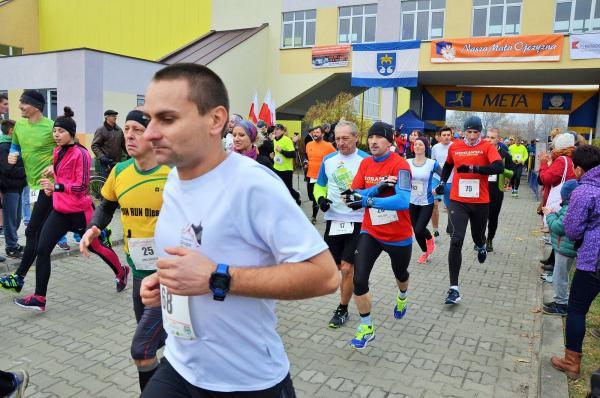 """Bieg Niepodległości """"Nowosarzyńska Jedenastka"""" (7.11.2015)"""