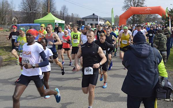 12. Półmaraton Dąbrowski w Dąbrowie Górniczej (14.4.2019)