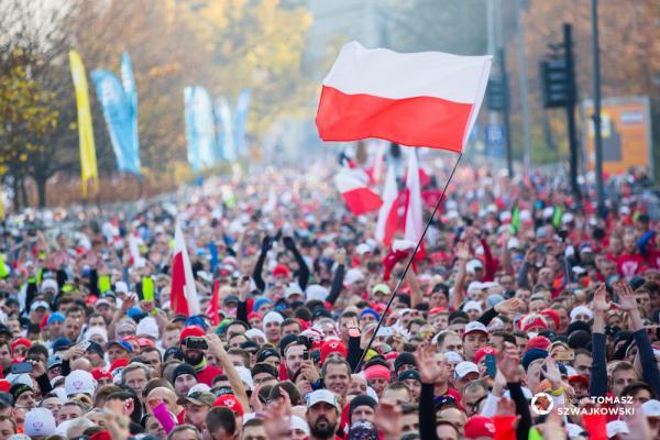 3. Bieg Niepodległości - BIEG 100-lecia 2018 w Poznaniu (11.11.2018)