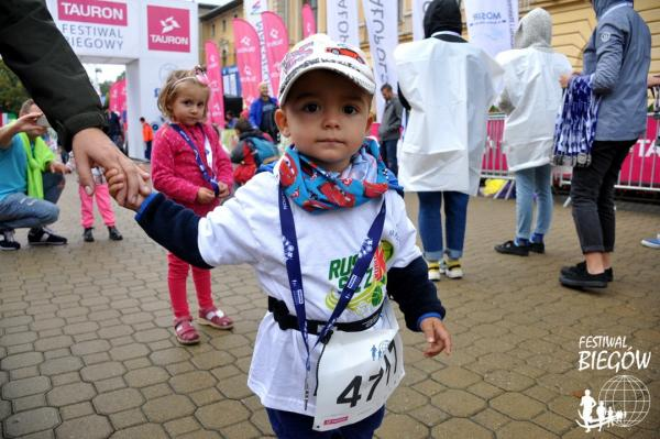 Biegi Dzieci (do 8 lat) - Rusz się z K! w Krynicy-Zdroju (9.9.2018)