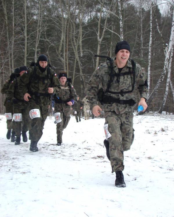 6. Półmaraton Komandosa w Warszawie (7.2.2015)