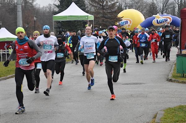 13. Śląski Maraton Noworoczny Cyborg w Chorzowie (1.1.2019)