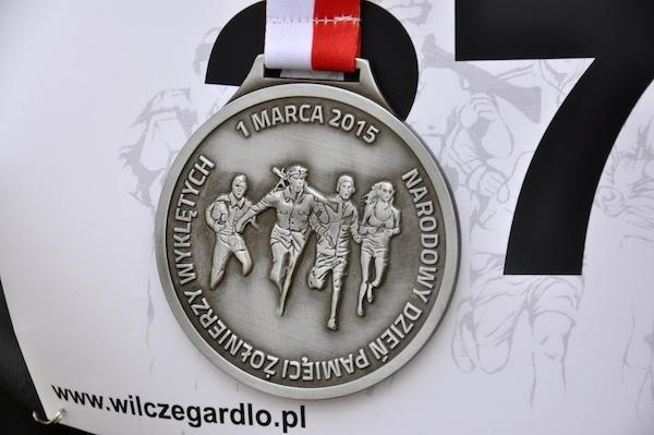 Bieg Tropem Wilczym w Gliwicach (1.3.2015)