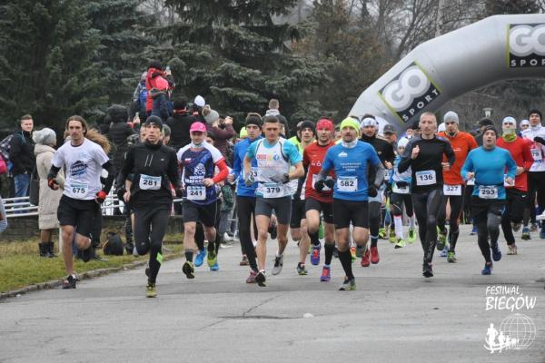 12. CYBORG Maraton Noworoczny w Chorzowie (1.1.2018)