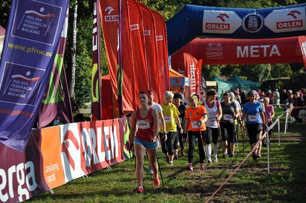 Finał Pucharu Polski Nordic Walking w Gdańsku (4.10.2014)