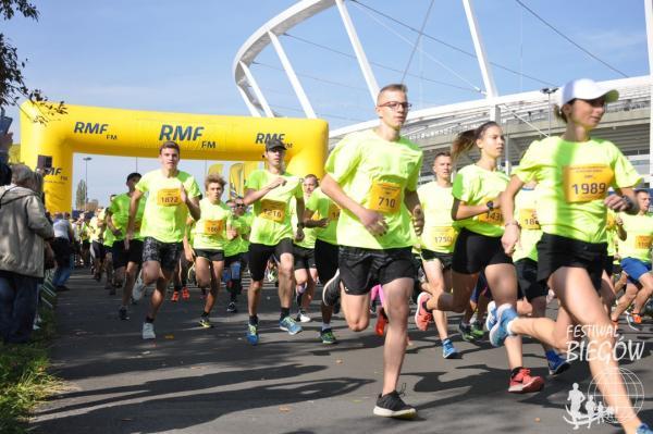 Mini Silesia Marathon o Puchar RMF FM w Chorzowie (6.10.2018)