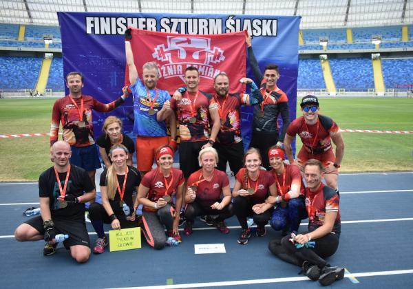 Szturm Śląski - Bieg z przeszkodami na Stadionie Śląskim (7.7.2019)