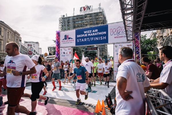 Wizz Air Skopje Marathon (6.5.2018)