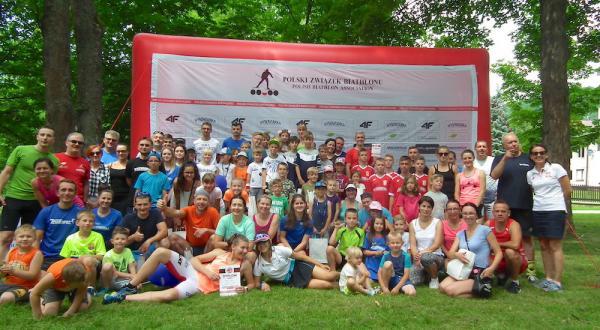 Biathlon Dla Każdego w Wysowej-Zdroju (9.6.2018)
