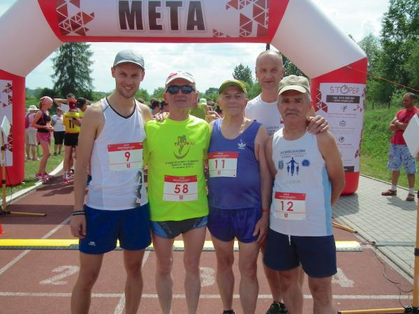 Bieg Niepodległości w Bobowej (10.6.2018)