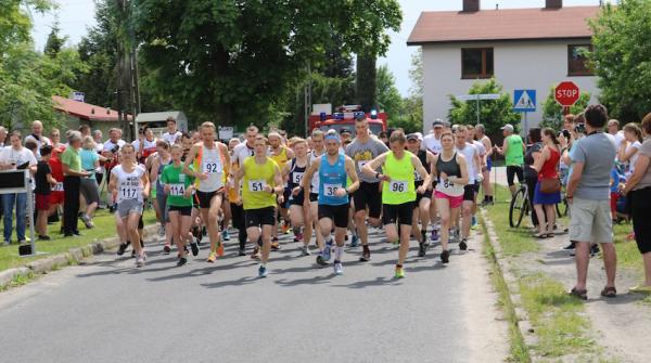 10. Parafialny bieg Św. Urbana w Strzebiniu (28.5.2016)