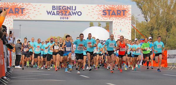 10. Biegnij Warszawo (7.10.2018)