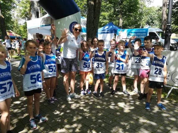 """""""Biathlon dla każdego"""" w Wysowej-Zdroju (15.6.2019)"""