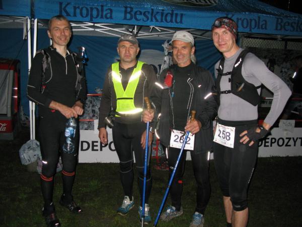 Bieg Rzeźnika Ultra z bazą w Cisnej (30-31.5.2015)