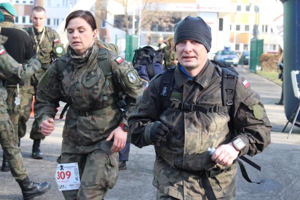 10. Półmaraton Komandosa w Warszawie (16.2.2019)