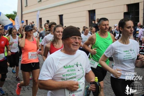 9. Bieg w Pogoni za Żubrem w Niepołomicach (18.6.2017)