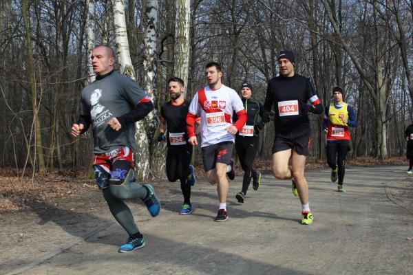 Bieg Tropem Wilczym w Łodzi (28.2.2016)