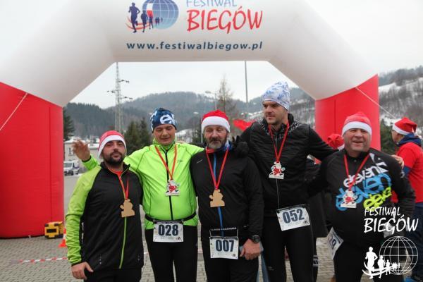 5. Bieg Mikołajów w Piwnicznej-Zdroju (8.12.2019)
