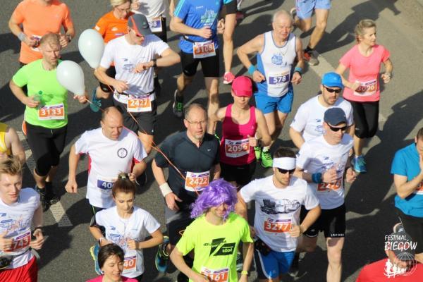 DOZ Maraton Łódź / Ibuprom Sport Żel Półmaraton (15.4.2018)
