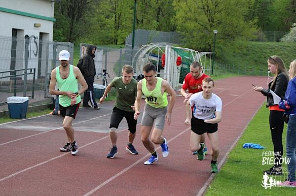 Outdoor Track Run w Łodzi (25.4.2018)