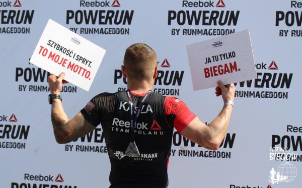 Reebok POWERUN by Runmageddon w Warszawie (14.4.2018)