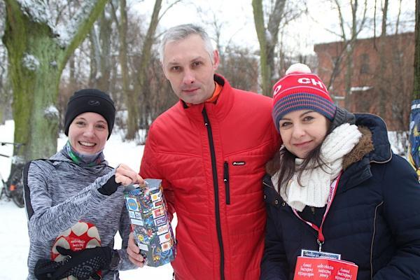 parkrun w Łodzi dla WOŚP (12.1.2019)