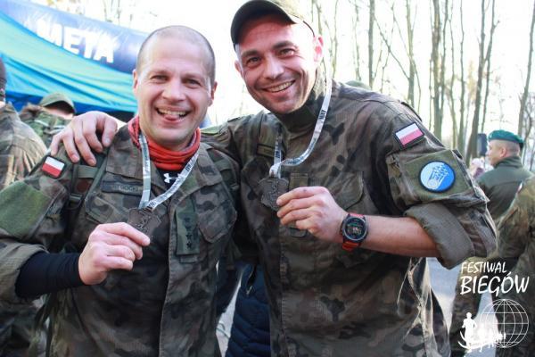 Półmaraton Komandosa w Warszawie (8.2.2020)