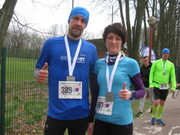 Czwarta Dycha do Maratonu Lubelskiego (9.4.2017)