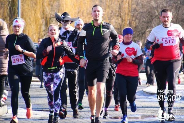 8. Bieg Walentynkowy w Dąbrowie Górniczej (10.2.2019)