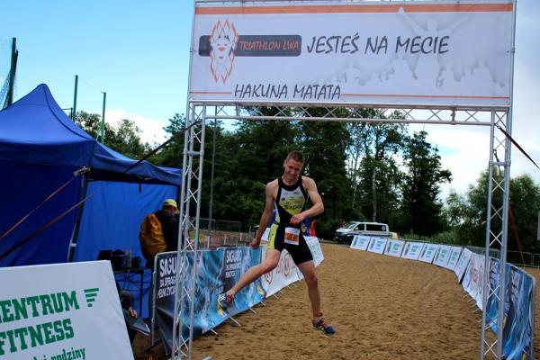 Triathlon Lwa w Lusowie (14.06.2014)