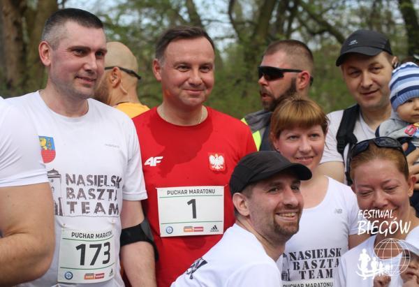 Puchar 40. PZU Maratonu Warszawskiego - bieg na 5 km (14.4.2018)