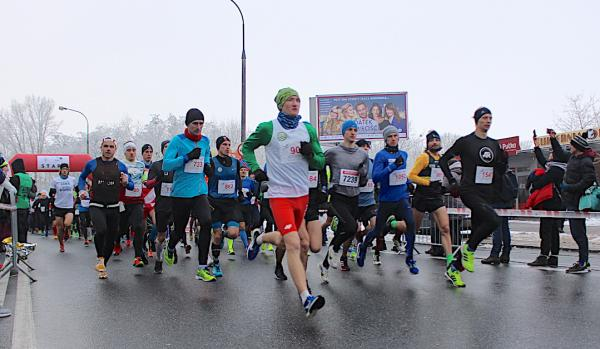 35. Bieg Chomiczówki / 13. Bieg o Puchar Bielan w Warszawie (21.1.2018)