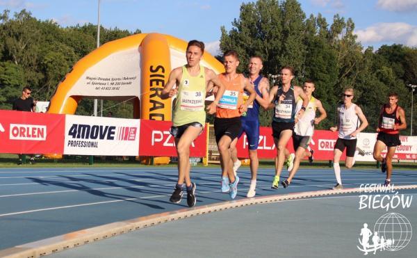 PZLA Mistrzostwa Polski w biegu na 5000m w Sieradzu (18.8.2019)
