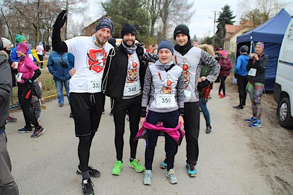 Bieg i Marsz Powstańca w Dobrej k. Łodzi (24.2.2019)