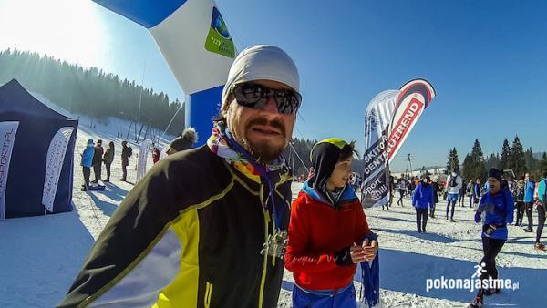 ICEBUG Winter Trail w Nowym Targu (14.2.2015)