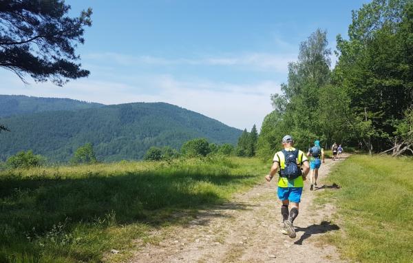 Górski Bieg Frassatiego w Międzybrodziu Bialskim (15.6.2019)