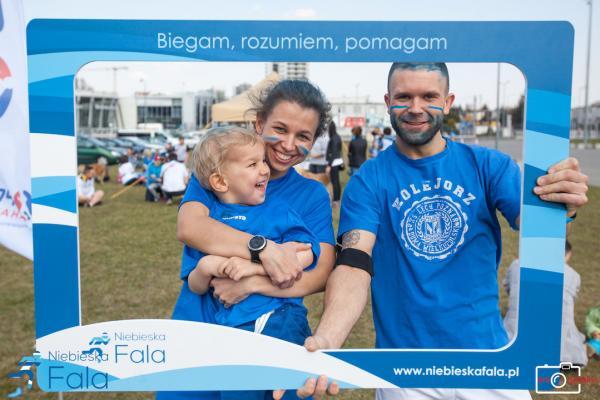 """""""Niebieska Fala"""" w Poznaniu (8.4.2018)"""