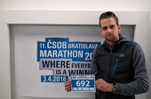 11. CBOS Bratislawa Maraton Grzegorza Urbańczyka (3.4.2016)