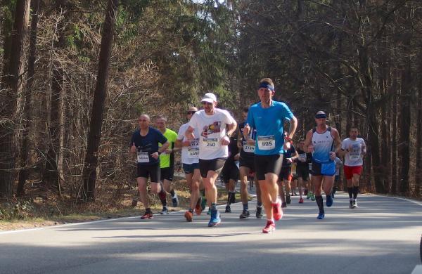 12. PANAS Pólmaraton Ślężański w Sobótce (23.3.2019)